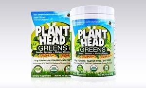 Genceutic Naturals Plant Head Greens Supplement 10 Oz
