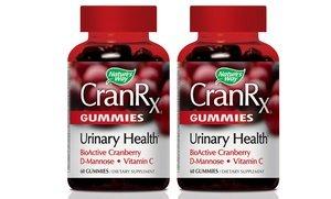 CranRx Gummy Supplements 2x60 Ct