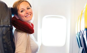 Image 2 of Inflatable Travel Pillow Set 5 Pc