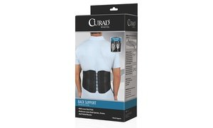 Image 0 of Curad Back Support with Dual-Pulley System