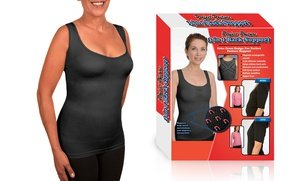 Image 2 of Women's Insta Trim 3-in-1 Magnetic Support Tank