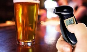 Image 0 of Personal Digital Alcohol Tester Breathalyzer