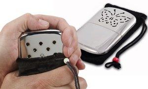 Image 0 of Fluid-Refillable Platinum Pocket Handwarmer