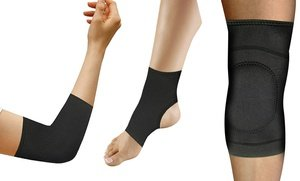Image 2 of Copper Comfort Compression Elbow, Knee, or Ankle Brace