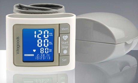 Image 0 of Professional Wrist-Cuff Blood-Pressure Monitor