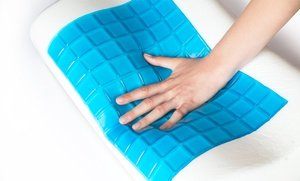 Image 2 of Sleep EZE Memory Foam Pillow with Cooling Gel 2.26 Oz