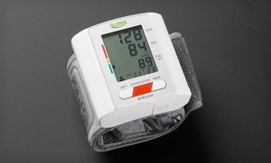 Image 2 of Gurin Pro Two-User Digital Wrist Blood-Pressure Monitor