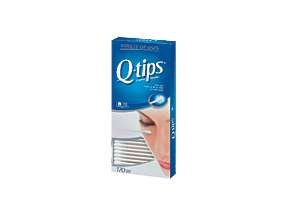 Q-Tips Cotton Swabs 170 Ct Cotton