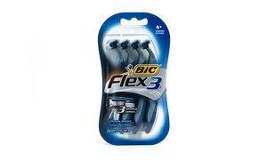 BiC Flex 3 Sensitive Skin Shavers 2x4 Ct