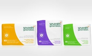 Image 0 of Seventh Generation Ultra-Thin Pads for Overnight 6x18 Ct