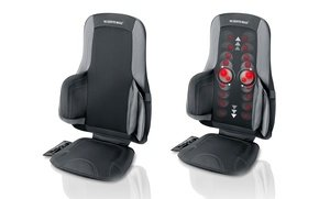 Image 2 of Sharper Image Air and Shiatsu Massage Cushion 12.10 Lb