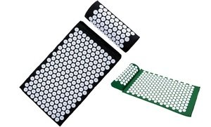 Image 0 of Deluxe Acupressure Mat and Pillow Set