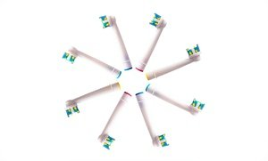 Image 2 of DiamondClean Compatible Replacement Toothbrush Heads 8 Pk