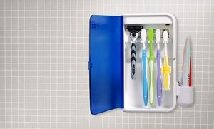 Image 0 of Pursonic Wall-Mountable S2 UV Toothbrush Sanitizer