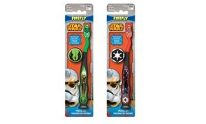 Image 0 of Star Wars Yoda and Darth Vader Travel Kit with Toothbrush and Cap