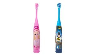 Batman or Barbie Battery-Powered Child's Toothbrush