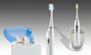 Image 0 of Advanced Ultrasonic Toothbrush with UV Sanitizer