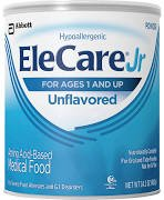 Image 0 of EleCare Jr Unflavored Powder 14.1 Oz By Abbott