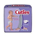 Cuties Baby Diapers SIZE 4 22-37LBS 31 BG