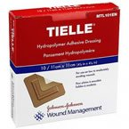 Tielle Hydropolymer Adhesive Dressing 4.25 X 4.25 IN