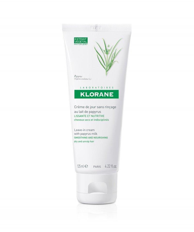 Klorane  Leave-in cream with papyrus milk 4.22 Oz