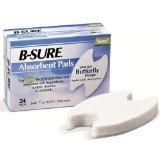 B-Sure Absorbent Incontinence Pad 24 Ct
