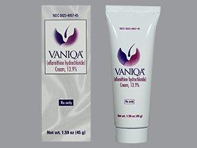 Vaniqa 13.9% Cream 45 Gm By Allergan Inc