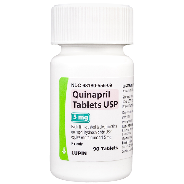 Image 0 of Quinapril GenericAccupril Quinapril 5 Mg 90 Tabs By Lupin Pharma