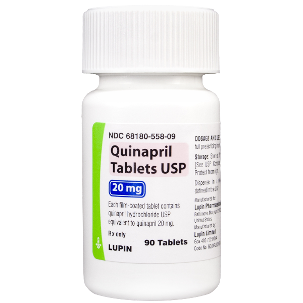 Image 0 of Quinapril GenericAccupril Quinapril 20 Mg 90 Tabs By Lupin Pharma