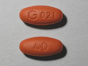 Image 0 of Quinapril Generic Accupril 40 Mg Tablets 90 By Greenstone