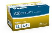 Aimsco Maxi2 Pen Neddle 31G 1/4 In 100 Ct By Delta Hi-Tech Inc. Free Shipping