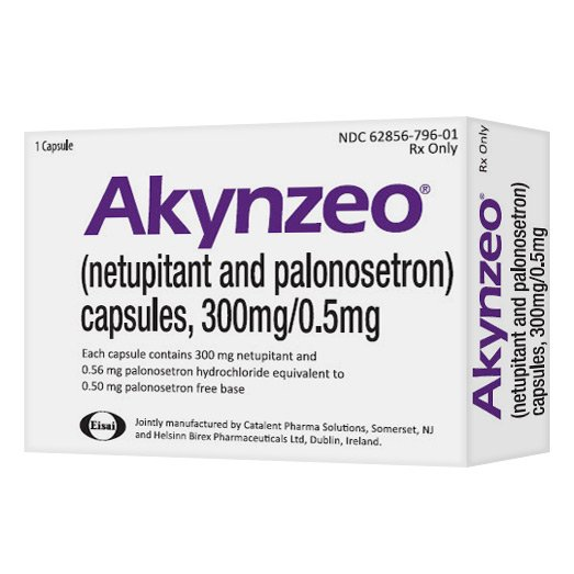 Image 0 of Akynzeo 300/0.5 Mg Caps 1 Ct By Eisai Inc.