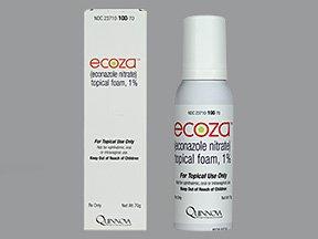 Ecoza 1% Topical Foam 70 Gm By Quinnova Pharma.