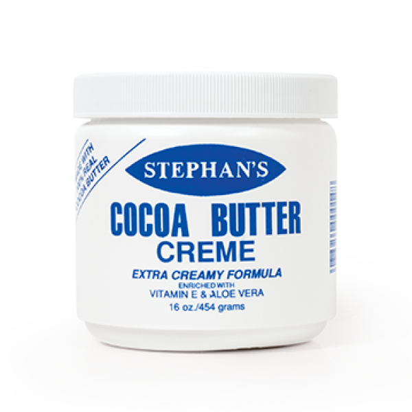 Stephan's Cocoa Butter Creme with Vitamin E & Aloe Vera 16oz