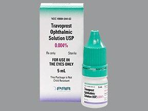 Travoprost Dr 0.004% Liquid Solution 5 Ml By Par Pharma.