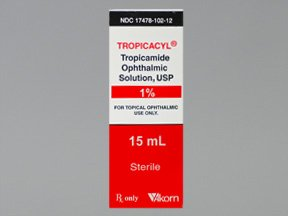 Tropicacyl 1% Opthalmic Drops 15 Ml By Akorn Inc.