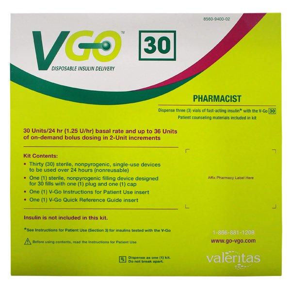 Vgo 30 Kit 30 By Valeritas Inc.