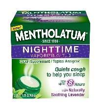 Image 0 of Mentholatum Night Vapor Rub Oint 1.76 oz