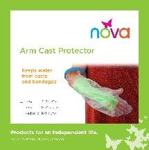 Image 0 of ARM CAST PROTECTOR LARGE 8115-R NOVA