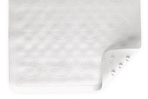 BATH MAT W/ SUCTION GRIP WHITE 9350-R By Nova
