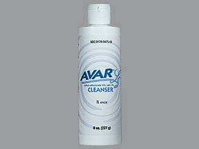 Avar Ls Liquid Cleanser 8 Oz By Mission Pharma.