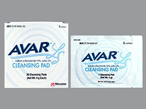 Avar Cleansing 30 Pads By Mission Pharma.