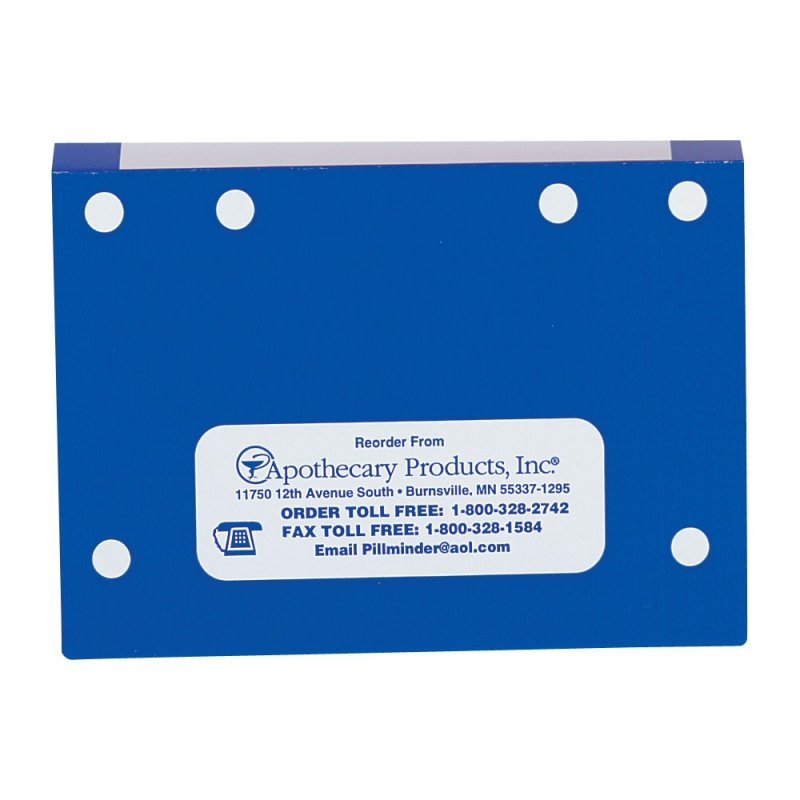 File Folders without Tabs - Blue, Single-Fold 100ct