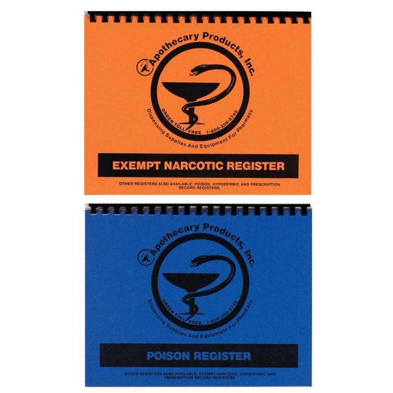 Image 0 of Poison/Narcotic Register