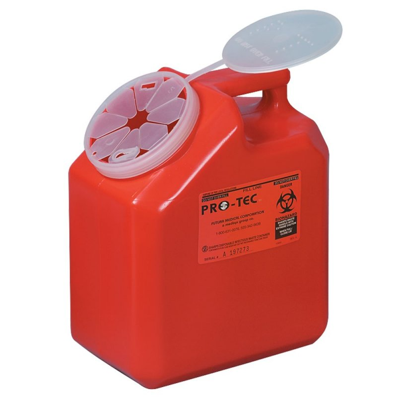 Image 0 of Infectious Waste Container - 2 gal