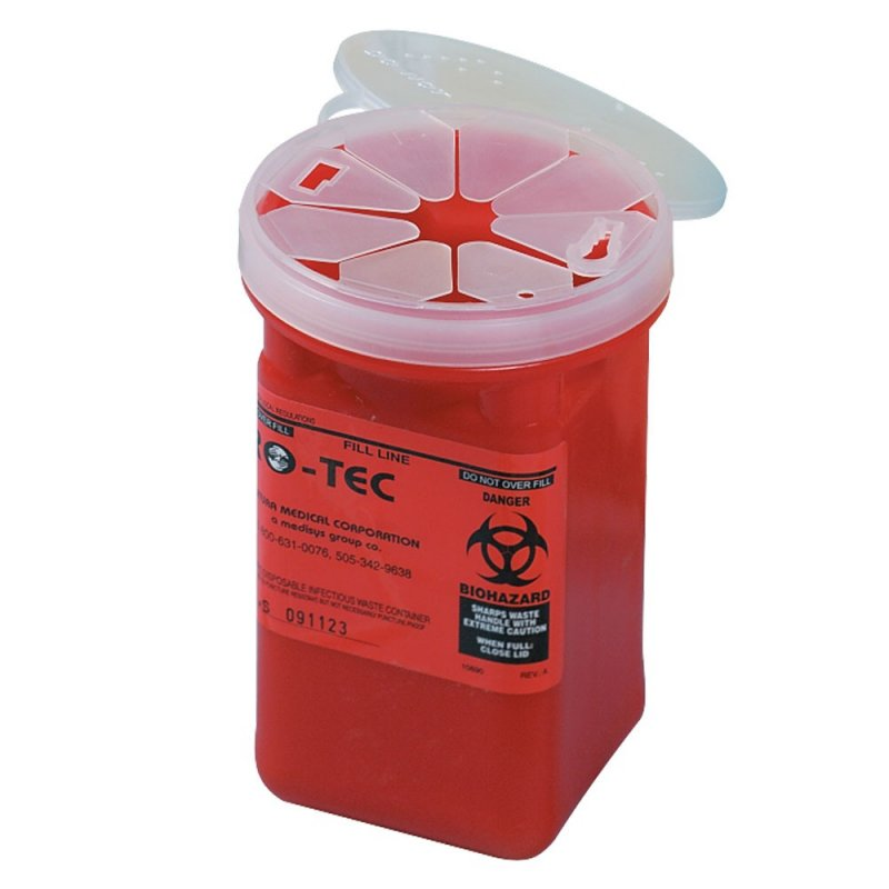 Infectious Waste Container - 1 qt