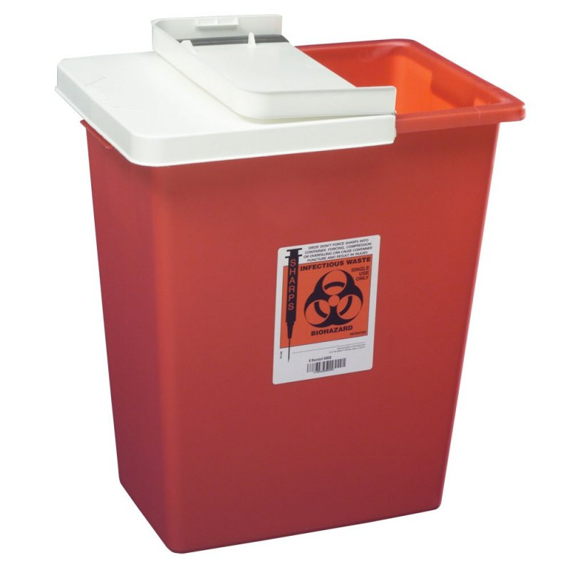 Image 0 of Infectious Waste Container - 8 gal