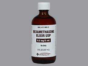 Dexamethasone 0.5 Mg 5 Ml Elx 239 Ml By Stat-Trade Inc.