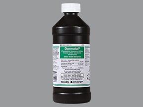 Donnatal 5 Ml Elixer 16 Oz By Concordia Pharma