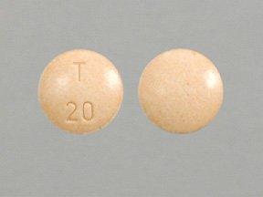 Image 0 of Enalapril Maleate 20 Mg Usp 1000 Tabs By Taro Pharma.